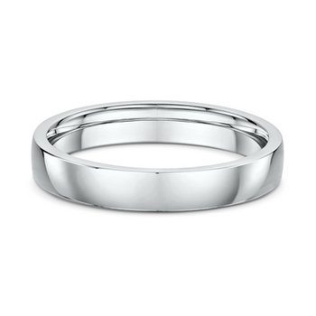 4mm Slight Dome Wedding Band