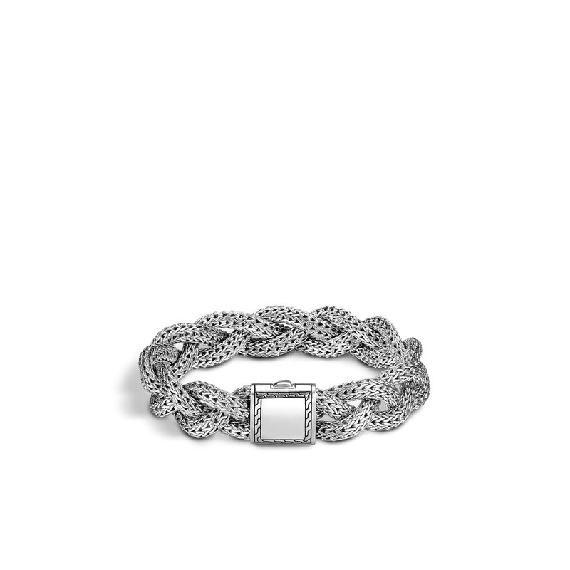 John Hardy Classic Chain Medium Braided Bracelet