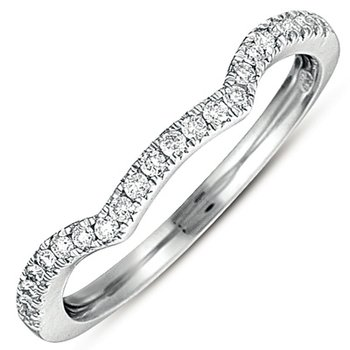 White Gold Matching Band for en7278