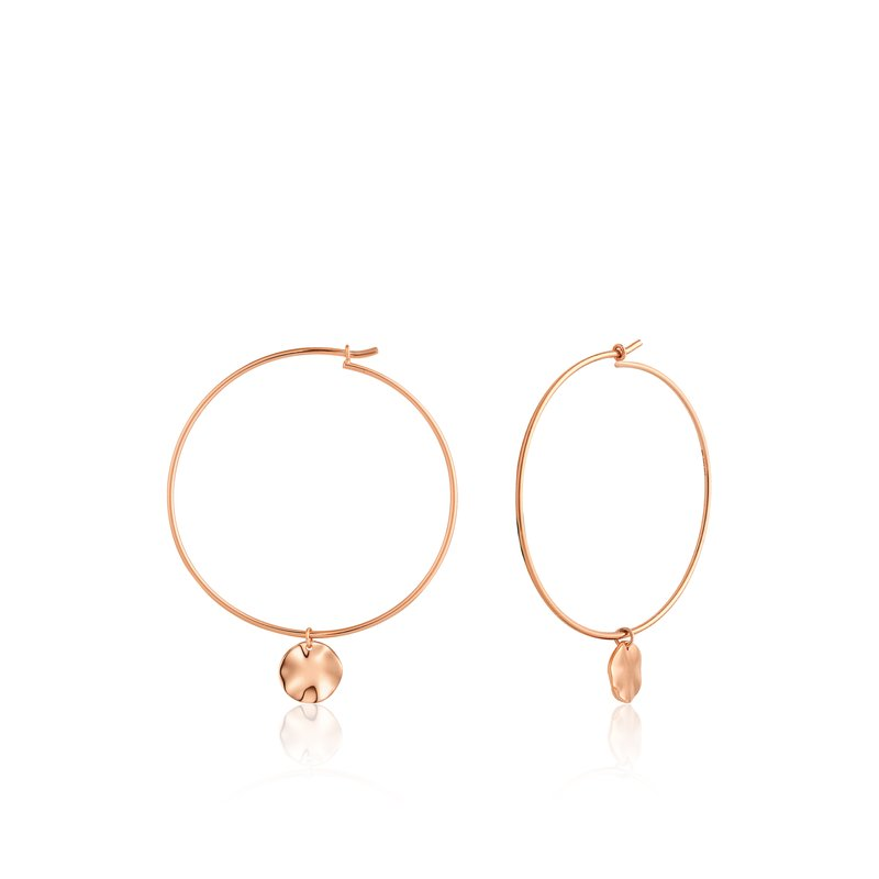 Ania Haie Ripple Hoop Earrings