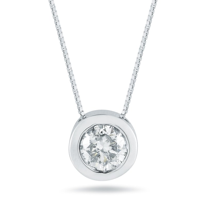 Paramount Gems 1/3ct Diamond Pendant