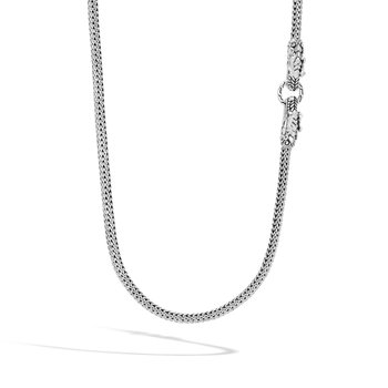 Legends Naga 5MM Long Necklace in Silver