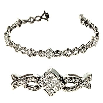 marshall jewelry s kashi sons white gold antique bracelet