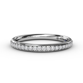1/4ct Prong Set Anniversary Band