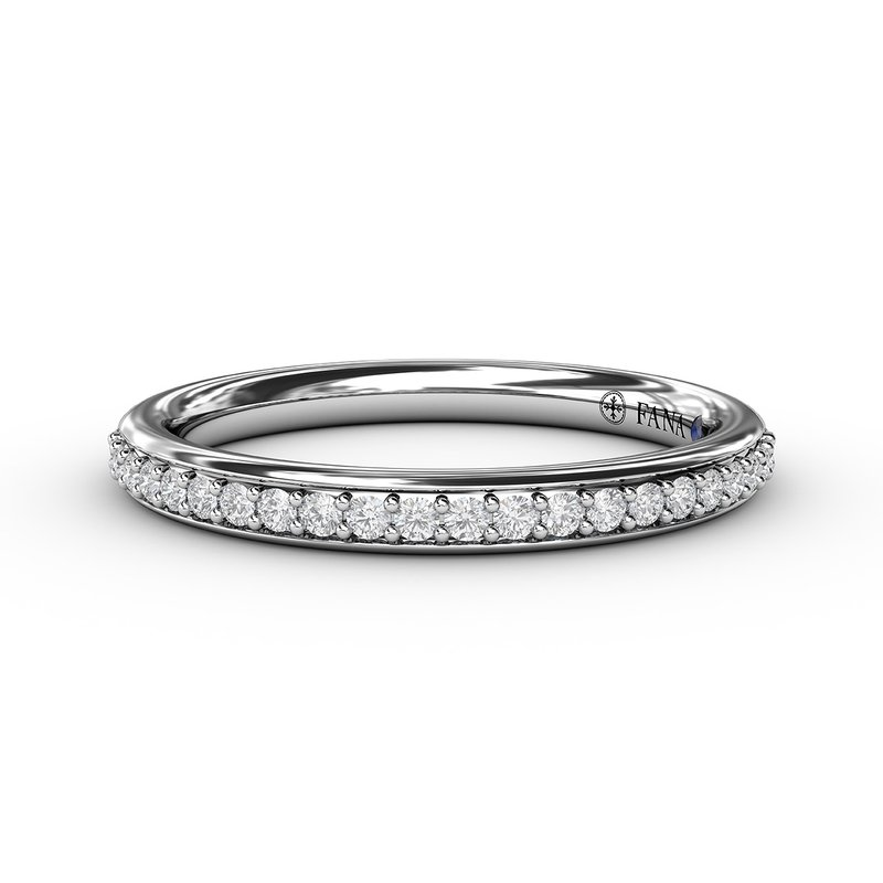 Fana 1/4ct Prong Set Anniversary Band