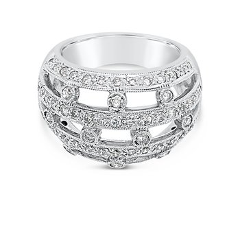 Platinum and Diamond Wide Band