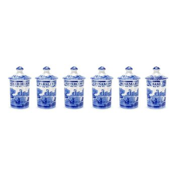 Set of 6 Spice Jars