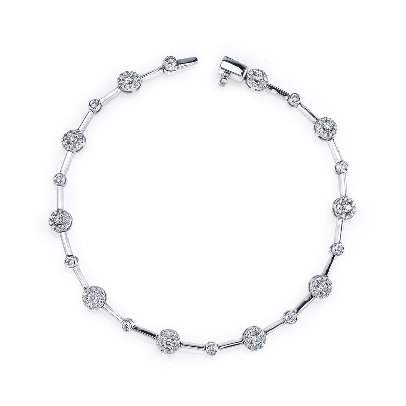 MARS Jewelry MARS 26743 Fashion Bracelet, 0.75 Ctw.