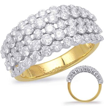 Yellow & White Gold Fashion Ring