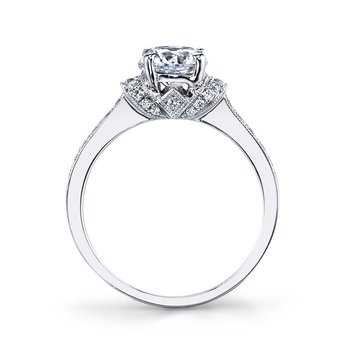 25284 Diamond Engagement Ring 0.38 ct tw