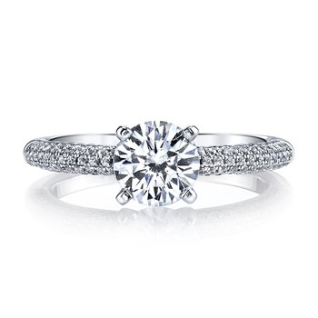 25468 Diamond Engagement Ring 0.47 ct tw