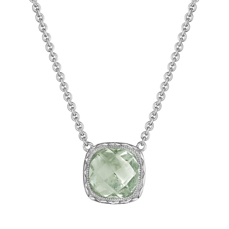 Tacori Fashion Cushion Gem Necklace with Prasiolite
