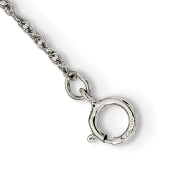 Sterling Silver & 12k Circle Necklace