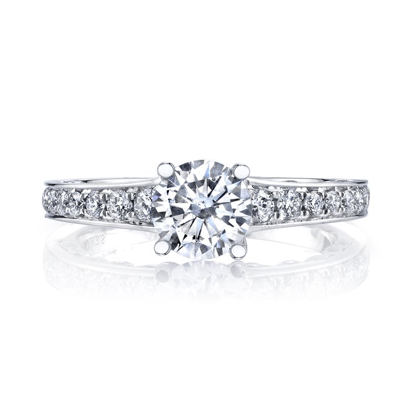 MARS 26545 Diamond Engagement Ring 0.50 Ctw.