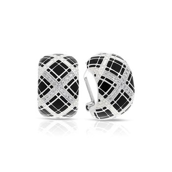Tartan Earrings