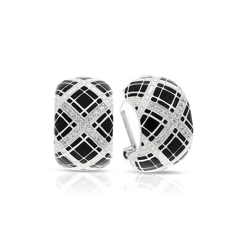 Belle Etoile Tartan Earrings