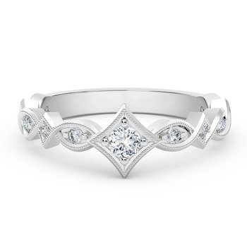 The Forevermark Tribute™ Collection Unique Diamond Ring