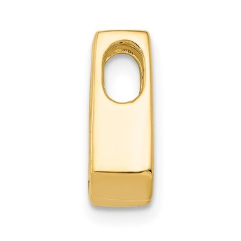 14k AA 4mm Diamond Slide