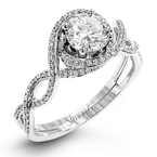 Simon G LP2304-D ENGAGEMENT RING