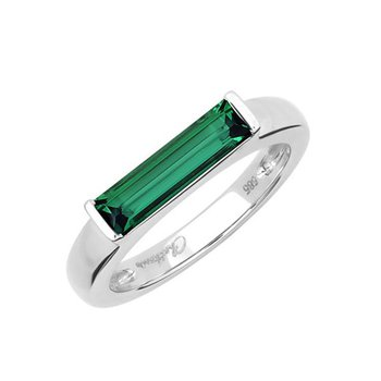 Emerald Ring-CR13125WEM