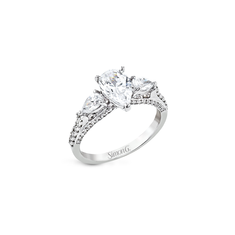 Simon G LR2840 ENGAGEMENT RING