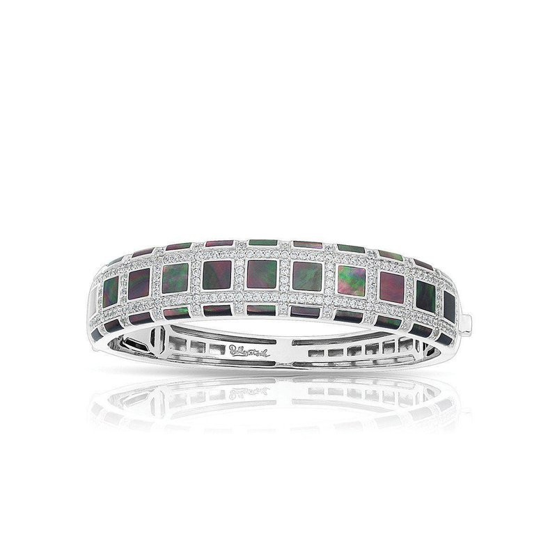 Belle Etoile Regal Mother-of-Pearl Bangle