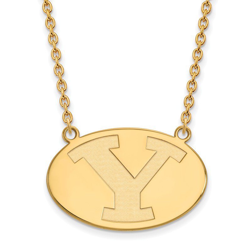 NCAA Gold Brigham Young University NCAA Necklace