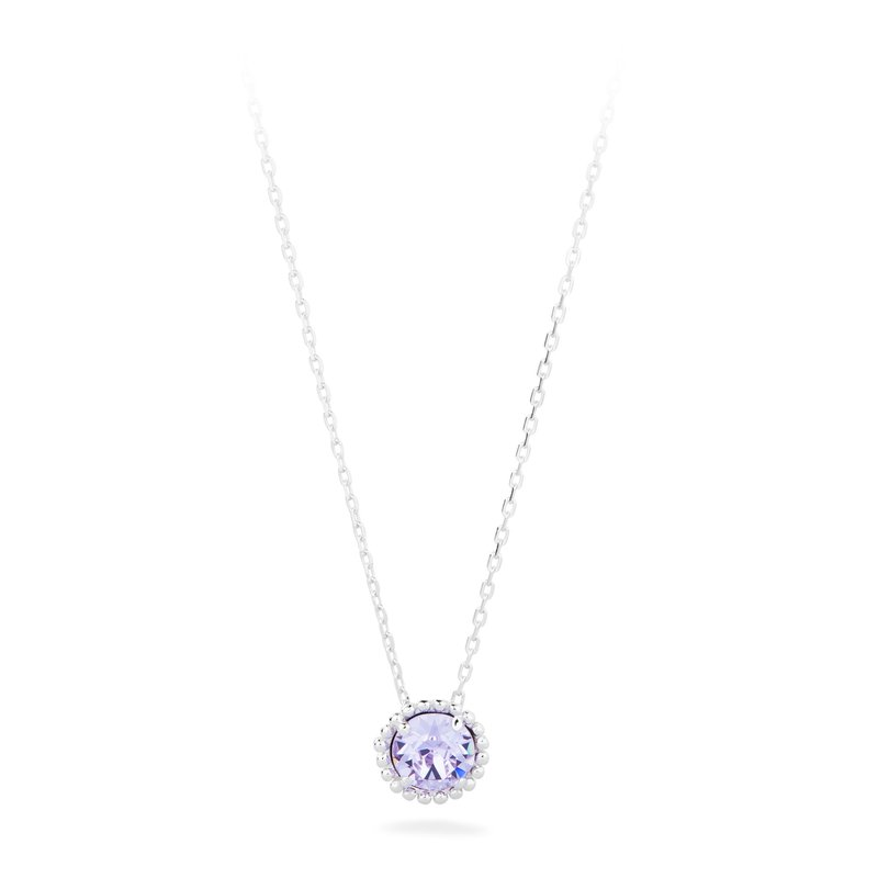 Brosway 925‰ sterling silver and violet Swarovski® Elements.