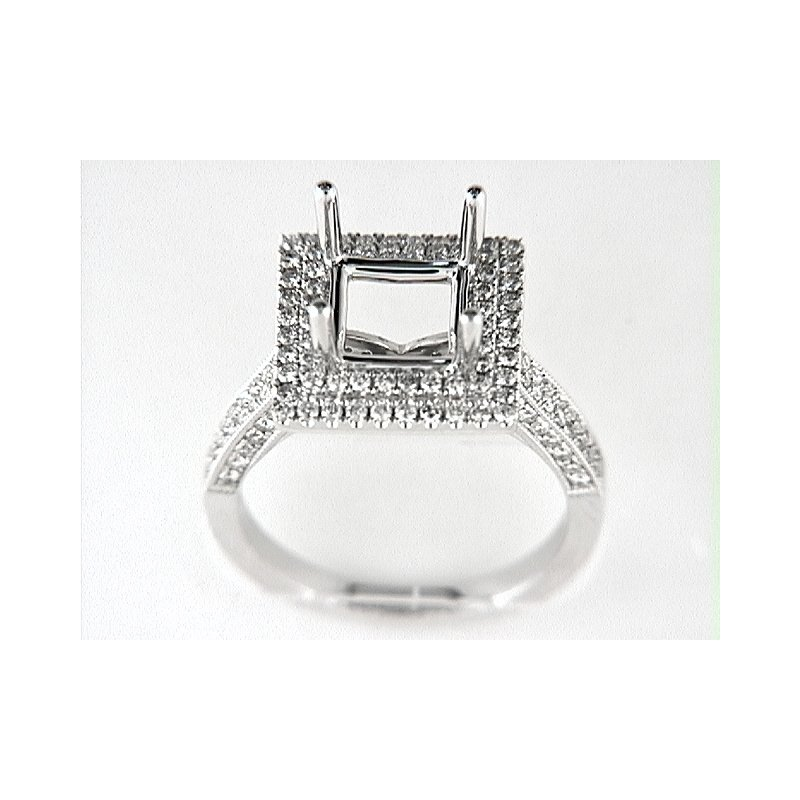 Venetti 14K W RING 154RD 0.84CT