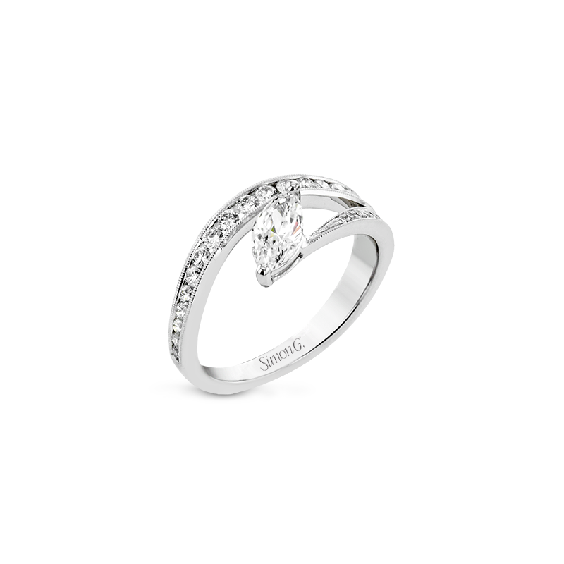 Simon G LR2823 ENGAGEMENT RING