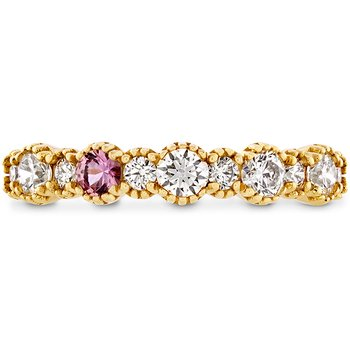 0.57 ctw. Behati Beaded Band with Sapphires