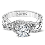 Simon G MR2593 ENGAGEMENT RING