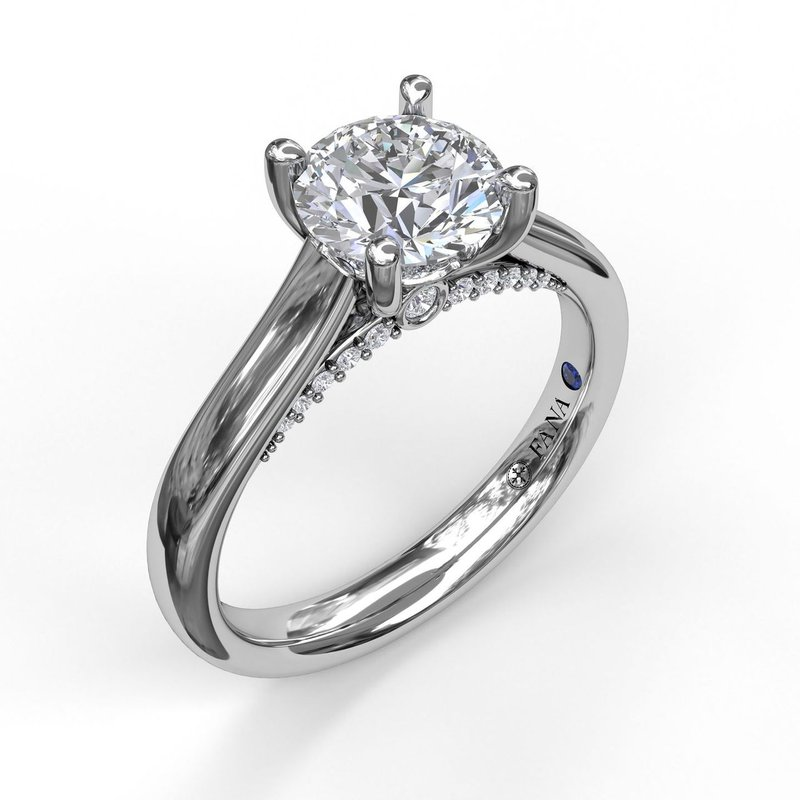 Love Forever Solitaire With Surprise Diamonds Engagement Ring