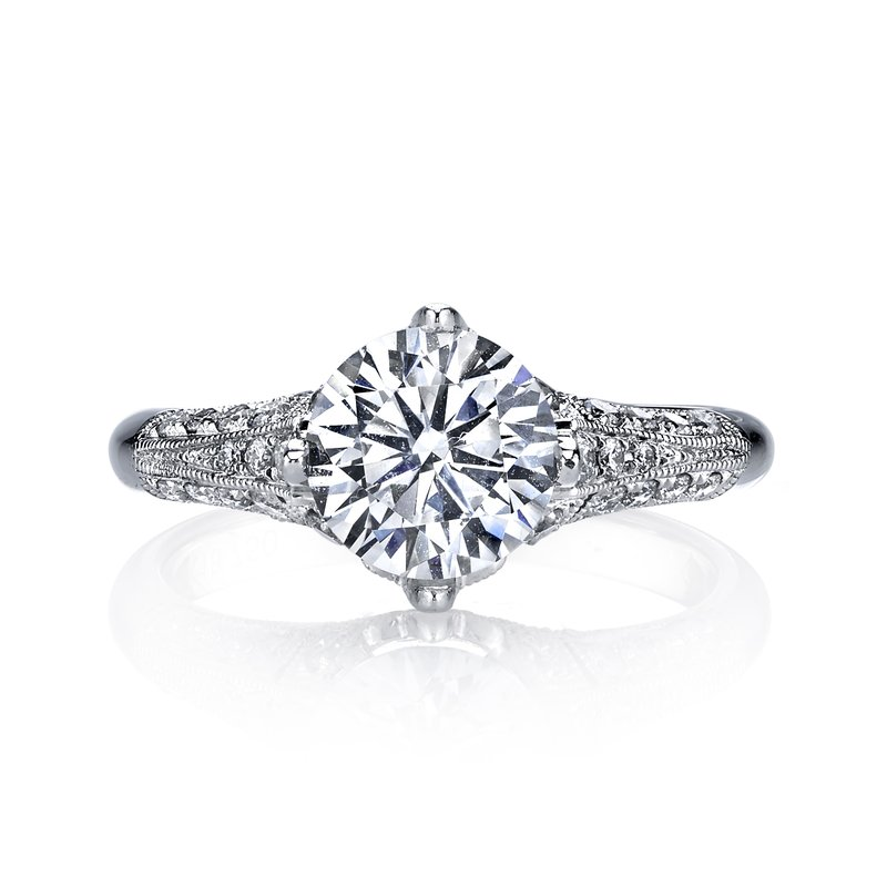 MARS Jewelry MARS 25321 Diamond Engagement Ring 0.40 Ctw.