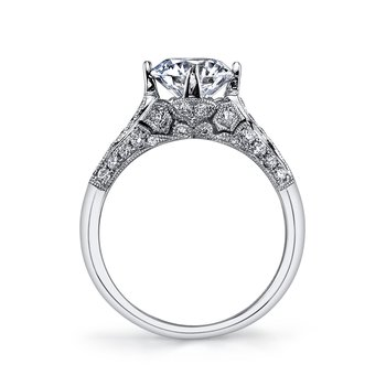 MARS 25321 Diamond Engagement Ring 0.40 Ctw.