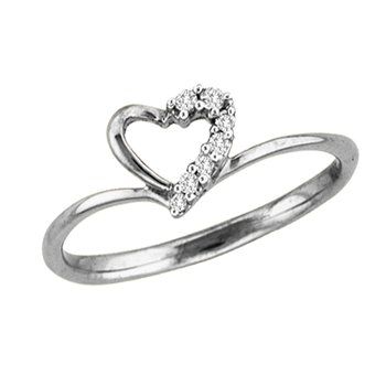 14K 0.07Ct Diamond Ring