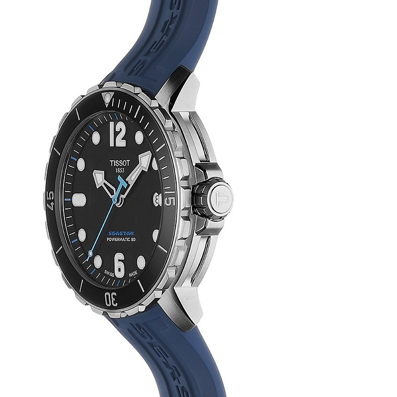 Tissot TISSOT SEASTAR 1000 POWERMATIC 80 CARRIBEAN EDITION