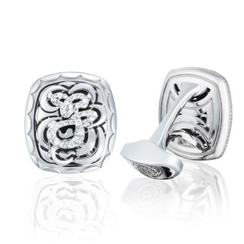 Diamond Cuff Links
