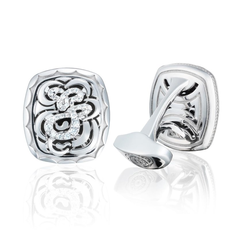 Tacori Fashion Diamond Cuff Links