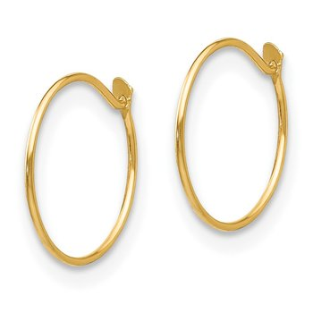 14k Madi K Sm. Endless Hoop Earrings