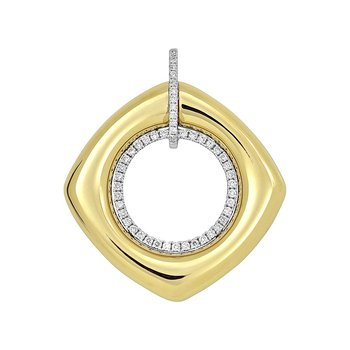 Diamond Fashion Pendant - FDP4800YW