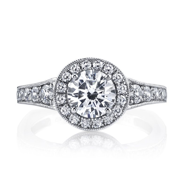 MARS Jewelry Diamond Engagement Ring 0.64 ct tw