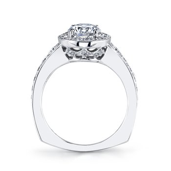 Diamond Engagement Ring 0.64 ct tw