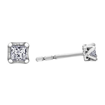 Maple Leaf Diamonds™ Tides of Love™ Stud Earrings