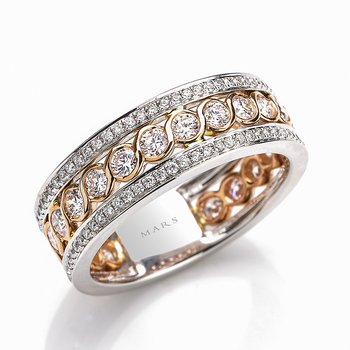 MARS 26274 Fashion Ring, 1.20 Ctw.