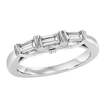 14K Diamond Matching Band 3/8 ctw