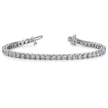 White Gold Diamond Tennis Bracelet