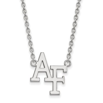 Sterling Silver United States Air Force Academy NCAA Necklace