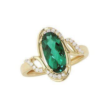 Emerald Ring-CR8255YEM