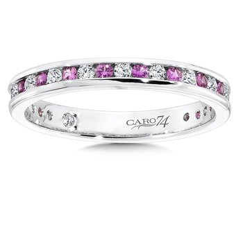 CARO 74 Eternity Band (Size 6.5) in 14K White Gold (0.255ct. tw.)